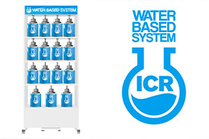 The ICR WATER BASED color mixing SYSTEM